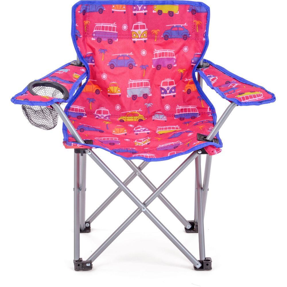 Outstanding Vw Kids Camping Chair Pink Pdpeps Interior Chair Design Pdpepsorg